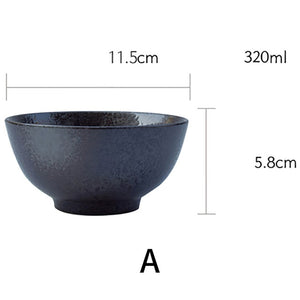 Japanese ceramic household rice bowl Sushi