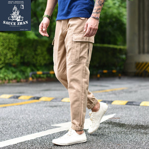 Military Pants Pencil Pants Casual Men Pants