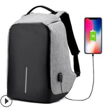 Load image into Gallery viewer, men's large capacity business trip backpack