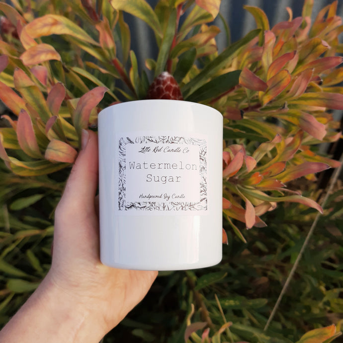 White Tumbler - Little Red Candle Co
