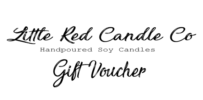 Gift Voucher - Little Red Candle Co