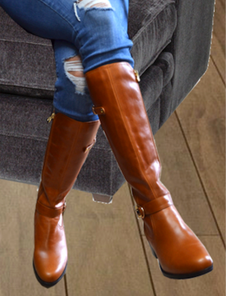 Narrow calf boots