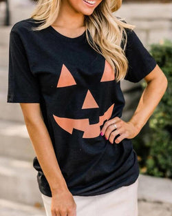 Halloween Themed Long Sleeve T-Shirt
