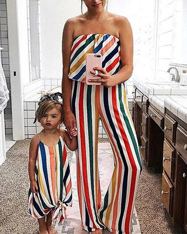 Striped Cami Dress For Toddler Girls