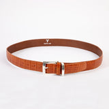 Echt Krokodil-Ledergürtel - crocodil leather belt