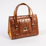 TasteLux Handtasche aus Störleder  Sturgeon leather handbag