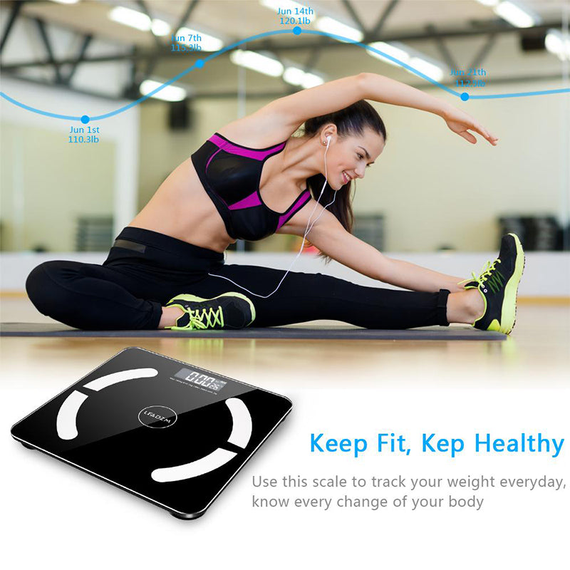 Smart Digital Bluetooth Body Fat Scale