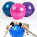 Yoga Exercise Ball & Ballpoint Massager