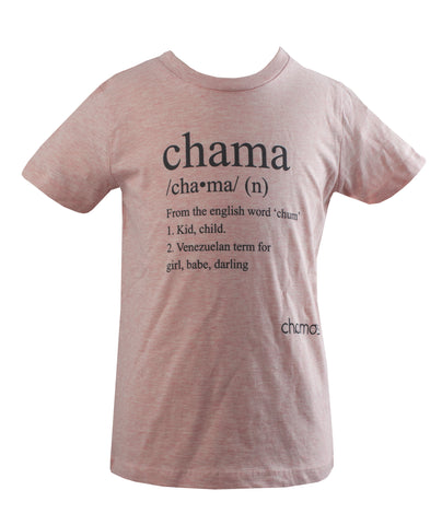 Camiseta Niña: CHAMA - Chamos - In Aid of the Children of Venezuela