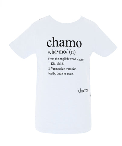 Camiseta Hombre: CHAMO - Chamos - In Aid of the Children of Venezuela