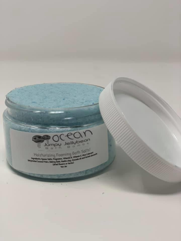 Ocean Foaming Bath Salts