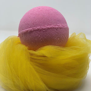 Apricot & Fig 8oz Round Bath Bomb