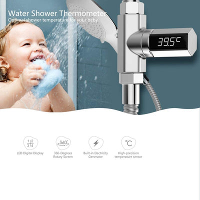 LED Shower Temperature Monitor