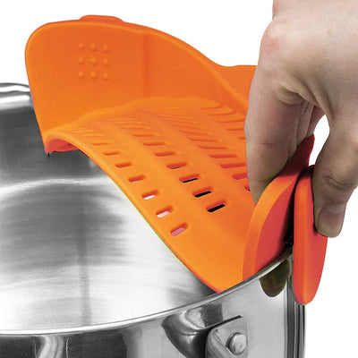 Clip-on Food Strainer