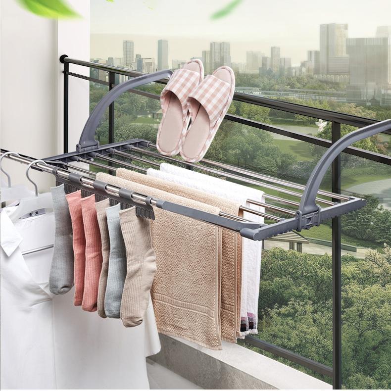 Folding Balcony Drying Rack