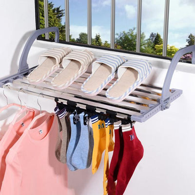Folding Balcony Drying Rack-Woneforyou