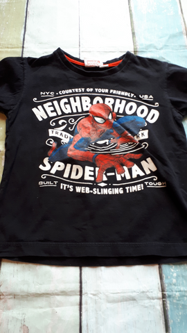 Spiderman Preschool Top Size 6
