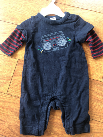 Gap Newborn One-piece 0-3 mo
