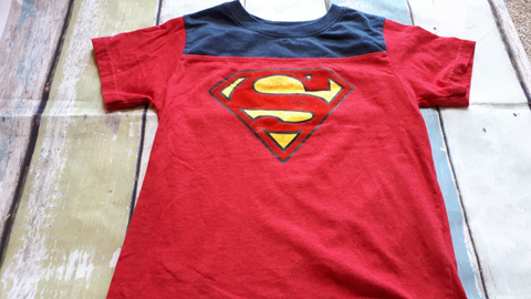 Dc Comics Preschool Top Size 6