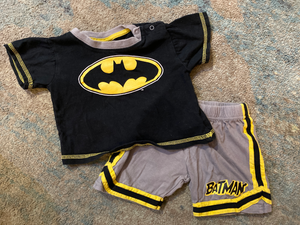 Dc Comics Newborn 2-piece set 3-6 mo