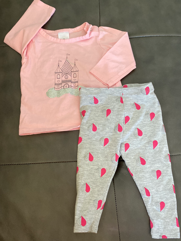 Newborn 2-piece set 0-3 mo 0258