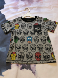 Marvel Toddler Top Size 4T