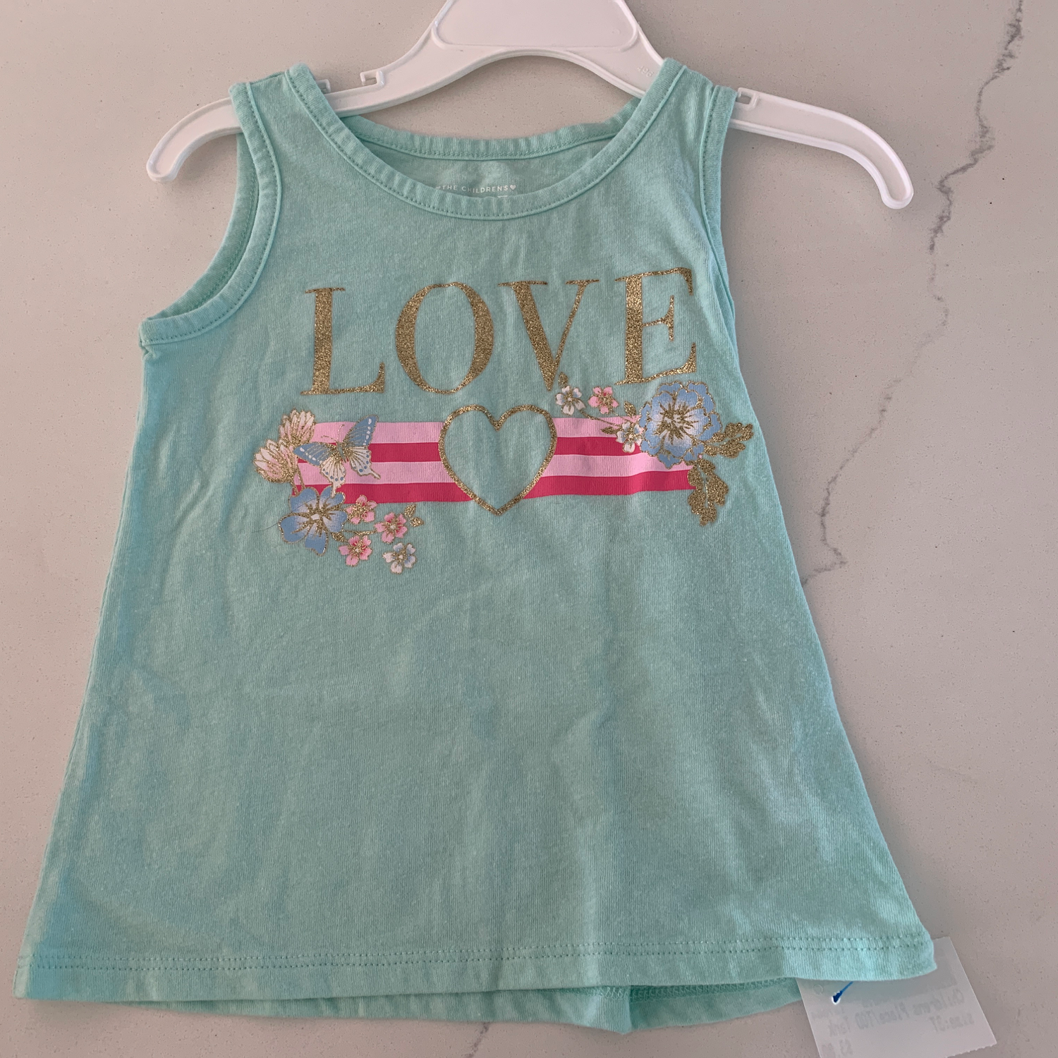 Childrens Place Toddler Top Size 3T