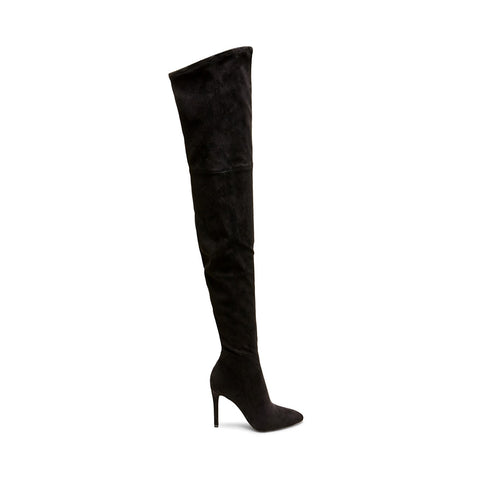 DOMINIQUE BLACK MICROSUEDE