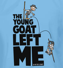 The young goat left me