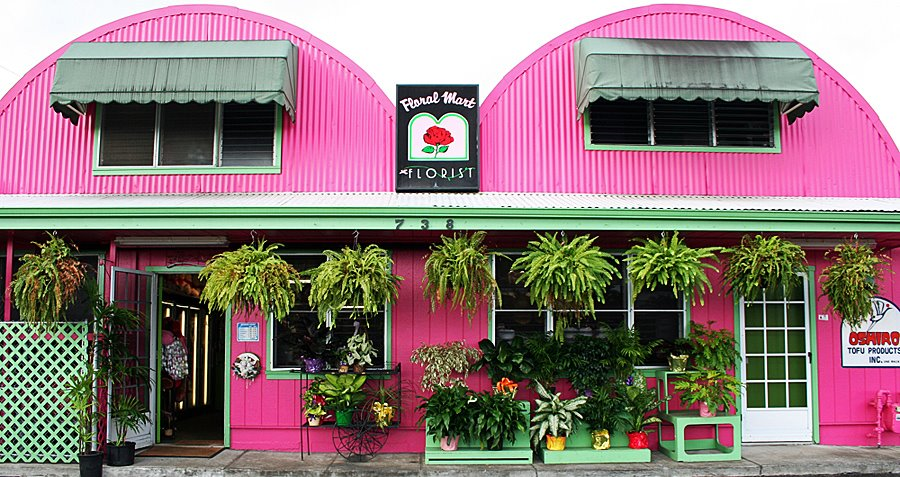 Floral Mart in Hilo, Hawaii