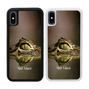 "Reptile Personalised Phone Case for Apple iPhone Xs MAX Custom Cover Personal Your Name Bumper 6.5"" Screen"