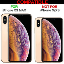 Load image into Gallery viewer, Custom Case Compatible with iPhone Xs MAX (6.5 inch) (Steampunk Mechanical Gears Pattern) Edge-to-Edge Rubber White Cover Ultra Slim | Lightweight | Includes Stylus Pen by Innosub