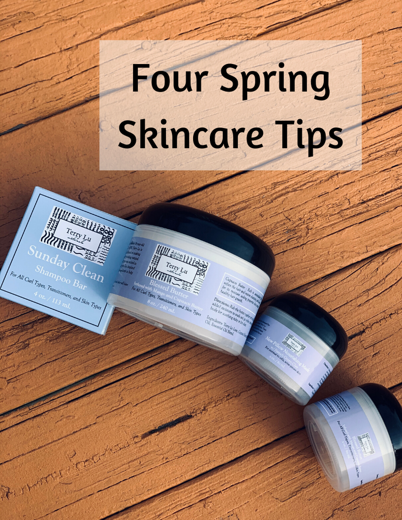 Four Spring Skincare Tips
