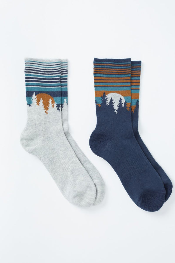 Image of product: Juniper Crew Sock 2-Pack