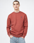 Image of product: M TreeFleece Golden Spruce LS Crew