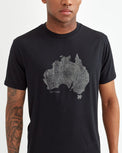 Image of product: M Australia Woodgrain T-Shirt