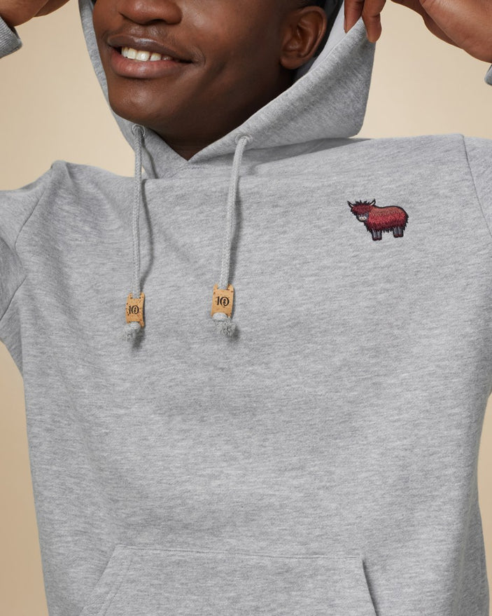 Image of product: Men's Nepal Embroidered Yak Hoodie