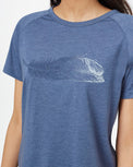 Image of product: Featherwave Raglan T-Shirt