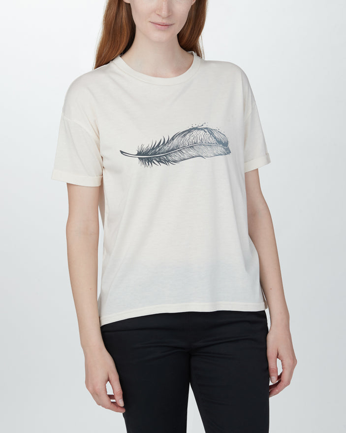 W Featherwave Relaxed T-Shirt