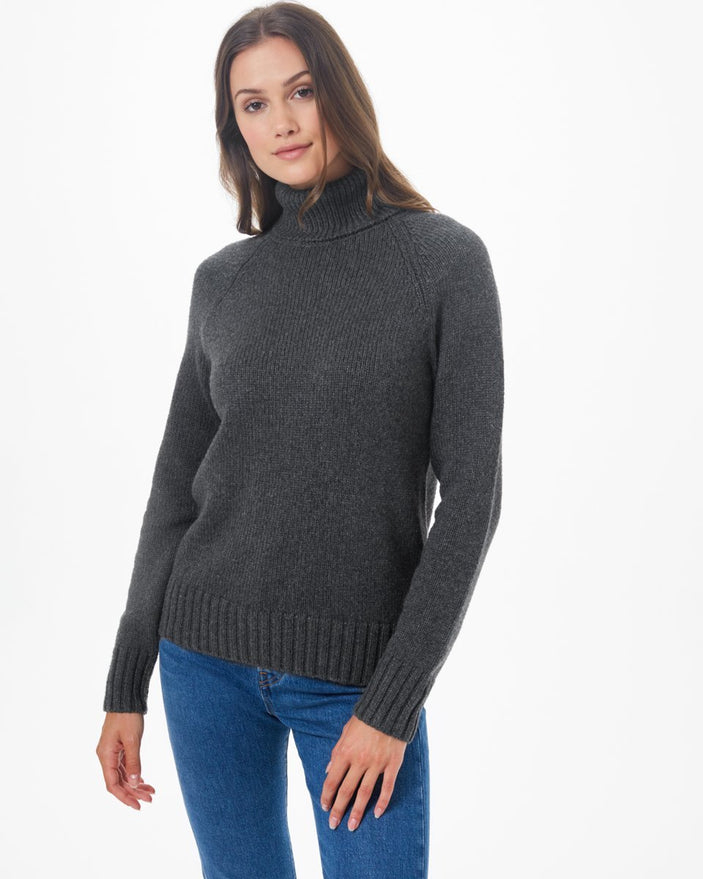 Image of product: Highline Wool Turtleneck Sweater