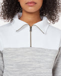 Image of product: Blocked 1/4 Zip Fleece