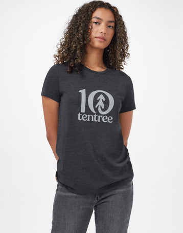 Image of product: Women's Tentree Logo Classic T-Shirt
