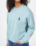 Image of product: Women's TreeFleece Golden Spruce Crew