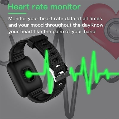 LEMONDA LDS13 Smart Watch Heart Rate Blood Pressure Fitness Tracker Step Counter - ecocowild