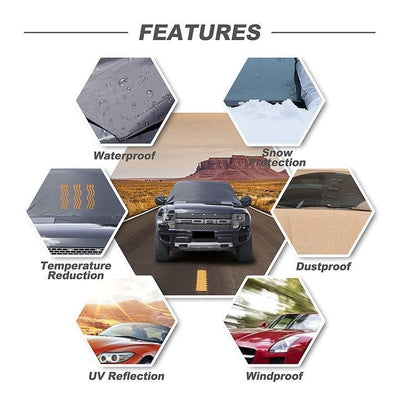ONLY 50% OFF TODAY -FREEDOM FULL PROTECTION WINDSHIELD COVER - ecocowild