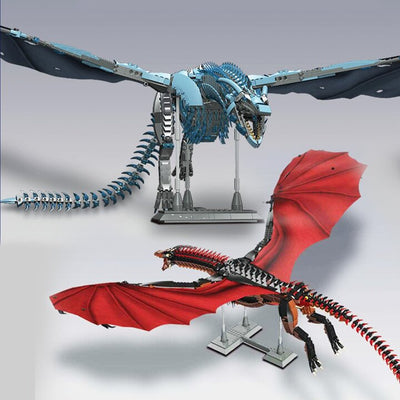 【FREE SHIPPING】Highly Difficult Giant Dragon Assembly Model - ecocowild