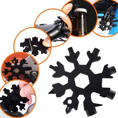 18-IN-1 STAINLESS STEEL SNOWFLAKES MULTI-TOOL - ecocowild