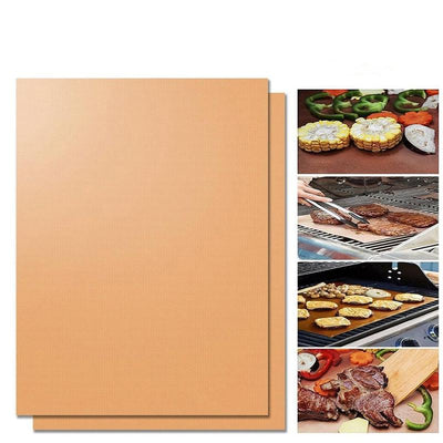 [🍔50%OFF today]Hirundo Non-Stick BBQ Baking Mats