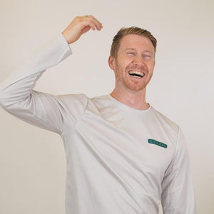 LuckeFit Long Sleeve Tech Tee - Anti-viral & Eco-friendly