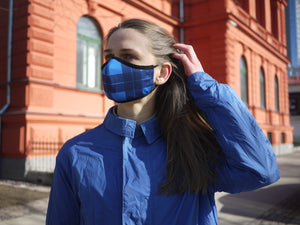 LUCKE ECO REUSABLE MASK BLUE